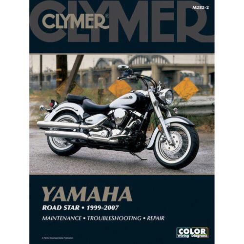 1999-2007 Yamaha Road Star 1600 1700 CLYMER REPAIR MANUAL