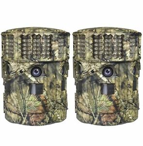 2-New-Moultrie-No-Glow-14MP-Panoramic-180i-Infrared-Trail-Game-Cameras-P-180i