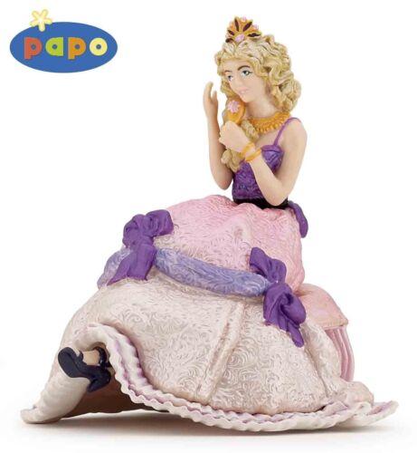 Assis princesse 9 cm dire + Contes de fées papo 39033