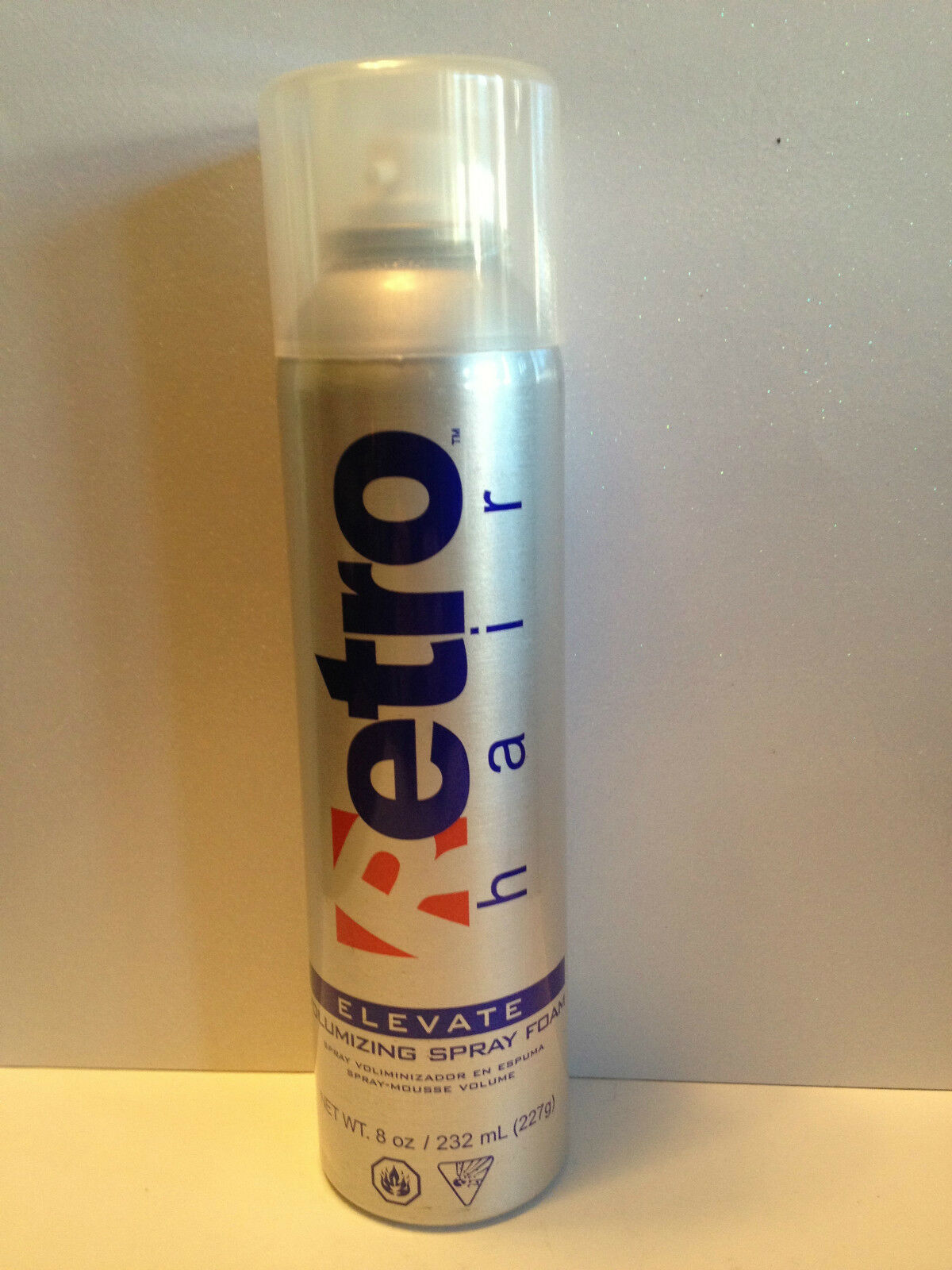 Retro Hair Elevate Aerosol Volumizing Root Lifting Spray Foam 8oz