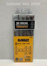 Dewalt Dw5470 Rock Carbide Sds Plus 2 Cutter Drill Bit Set