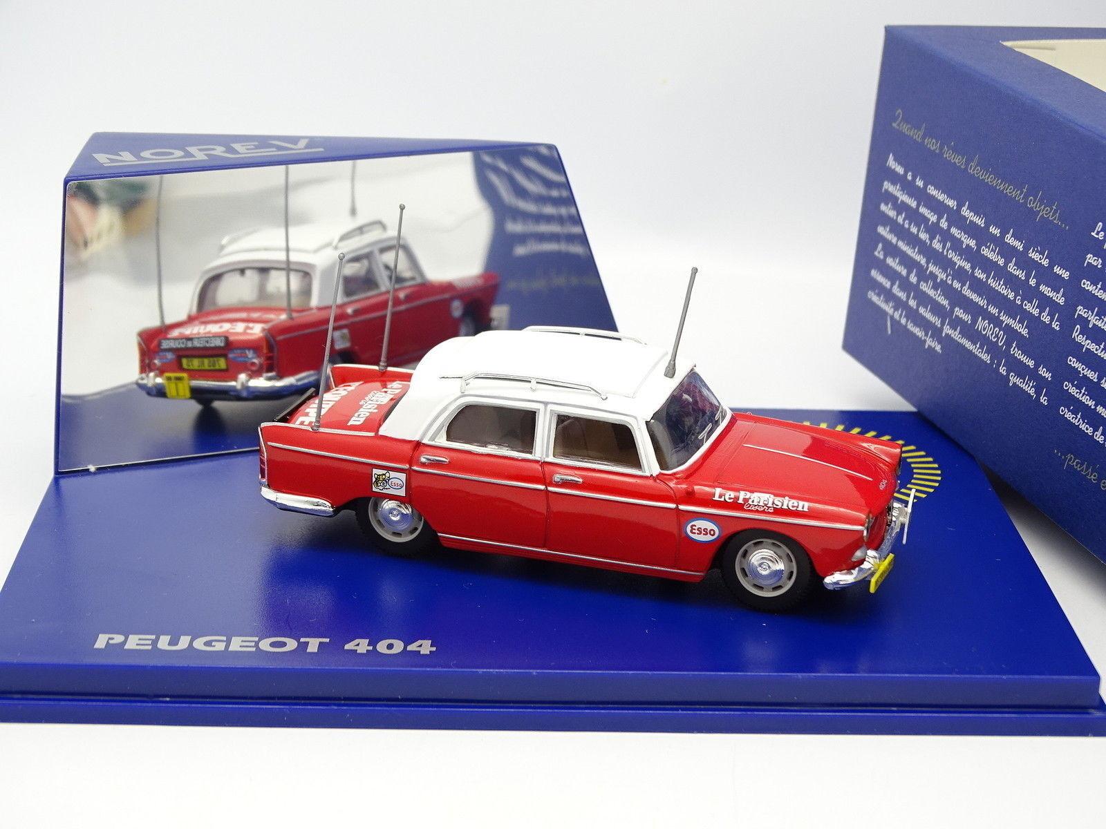 Norev 1 43 - Peugeot 404 Director Race Tour de France 1968