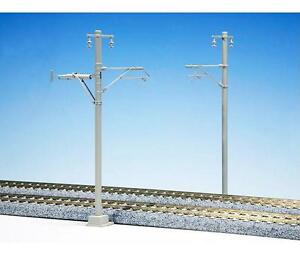 Kato-5-054-Catenaire-Voie-Simple-Large-Catenary-Single-Track-Wide-12pcs-HO