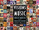 Walas Tony Visions of Music Sheet Music in the 20th Century Bam Book: Sheet Music in the Twentieth Century by Tony Walas (Paperback, 2014)