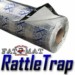10-sq-ft-FATMAT-RATTLETRAP-Thick-Car-Sound-Deadening-Proofing-Dynamat-Rlr-Avail
