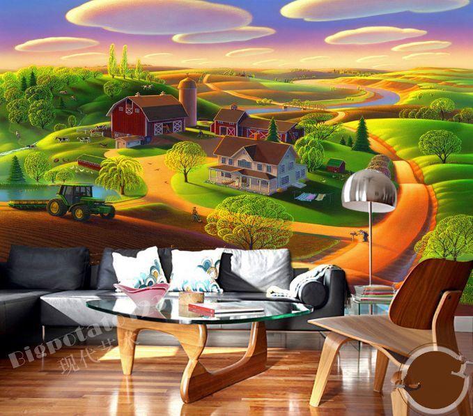 3D Beau Paysage 301 Photo Papier Peint en Autocollant Murale Plafond Chambre Art