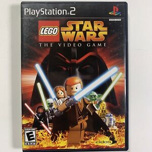 LEGO Star Wars: The Video Game PS2 Sony PlayStation 2, 2005 #239