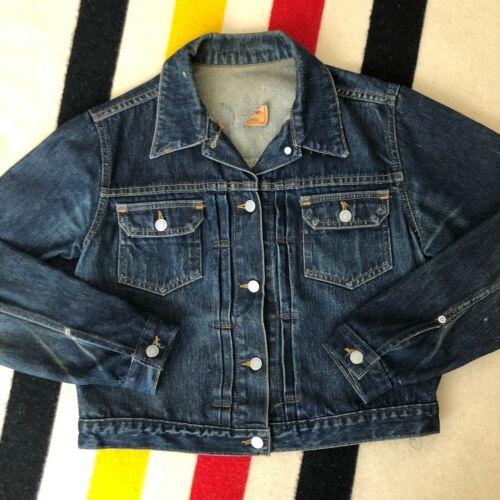 Vintage Levis Type 2 Denim Jacket // Size M/L // D