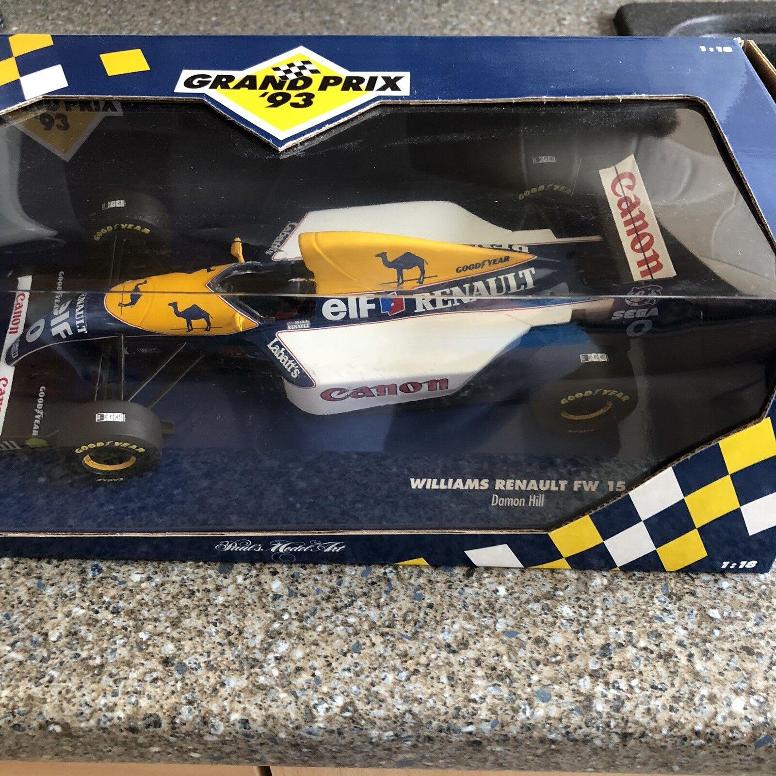 Surprise du carnaval de Noël Damon Hill FW15 MINICHAMPS 1993 S. African GP livrée   Attrayant Et Durable