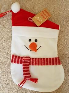 3D Christams Stocking  Snowman - London, United Kingdom - 3D Christams Stocking  Snowman - London, United Kingdom