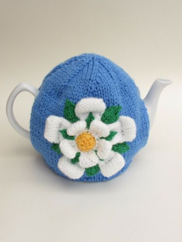 Yorkshire Rosa Té Acogedor Tejer patrón a tejer su propio York Rosa Té Acogedor