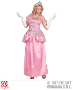 123add75074a Womens Ladies Pink Fairy Tale Princess Fancy Dress Costume Outfit ...