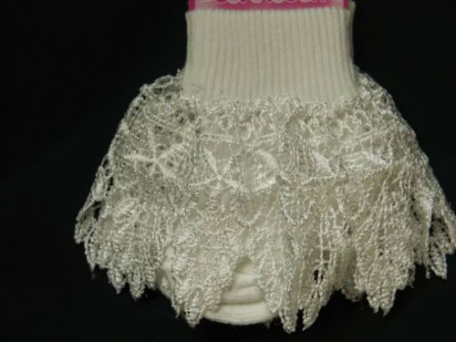 BABY GIRL SINGLE PACK SPECIAL OCCASION SOCKS WITH VARIOUS LACE FRILLS