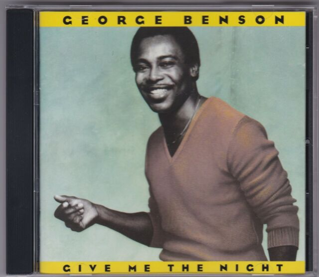 George Benson - Give Me The Night - CD (West German Target 256823)