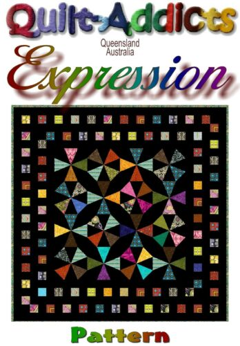 """EXPRESSION"" Patchwork Quilt Pattern"