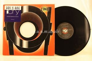 Bass-Is-Base-I-Cry-Record-12-034-VG-Promo
