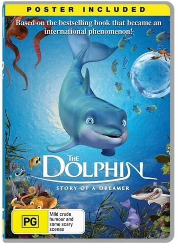 1 of 1 - The Dolphin - Story Of A Dreamer (DVD, 2014) SEALED, R4 POSTER INCLUDED