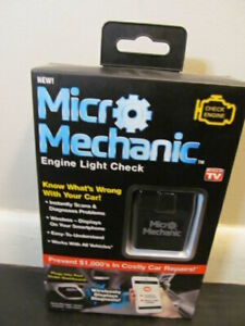 Ontel Micro Mechanic Engine Light Checker Diagnose