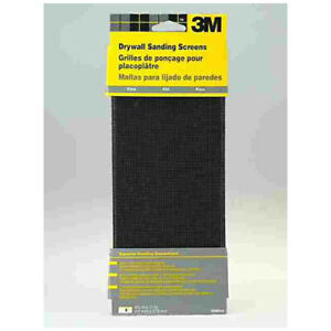 "100 Grit  Drywall /& Plaster Sanding Screens Set of 10 4.5/"" x 11/"""