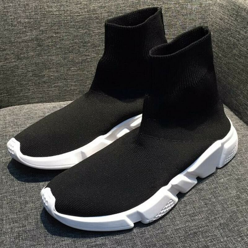 New Uomo Designer Style Knit Knit Knit Speed Sock Runner Luxury Trainers scarpe da ginnastica scarpe 82a115