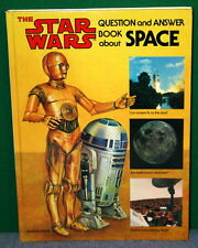 Star Wars Question & Answer Book about SPACE by Random House 1979 Hardcover Book