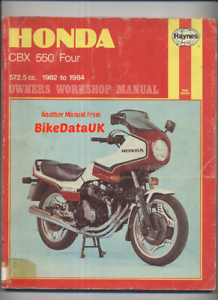 honda cbx550 four 1982 1984 haynes service repair manual cbx 550 f rh ebay co uk Honda CBX 500 2014 service manual honda cbx 550 f