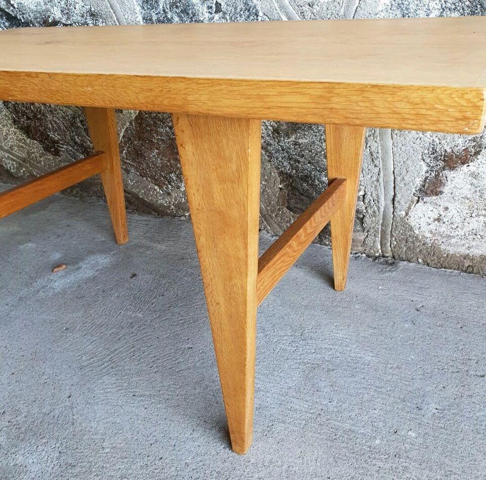 Sofabord, egetræ