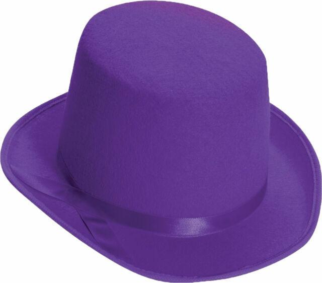 One Size Purple Forum Novelties Men/'s Deluxe Adult Novelty Fedora Hat