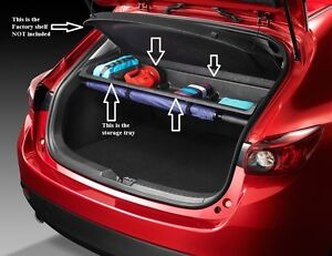 2014 2018 Mazda 3 5 Door Hatchback Cargo Storage Shelf Bje3v1300