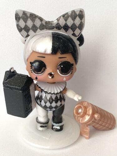 New LOL Surprise Lights Glitter Series Glam Club-Harlequin Girl W//Black Light