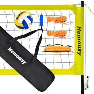 Badminton Filet tennisnetz 10 M Portable Volley-ball réglables höhenverstellba