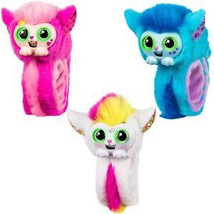 Wrapples-Little-Live-Pets-Mascota-Interactiva-Portatil-hablando-Snap-pulseras