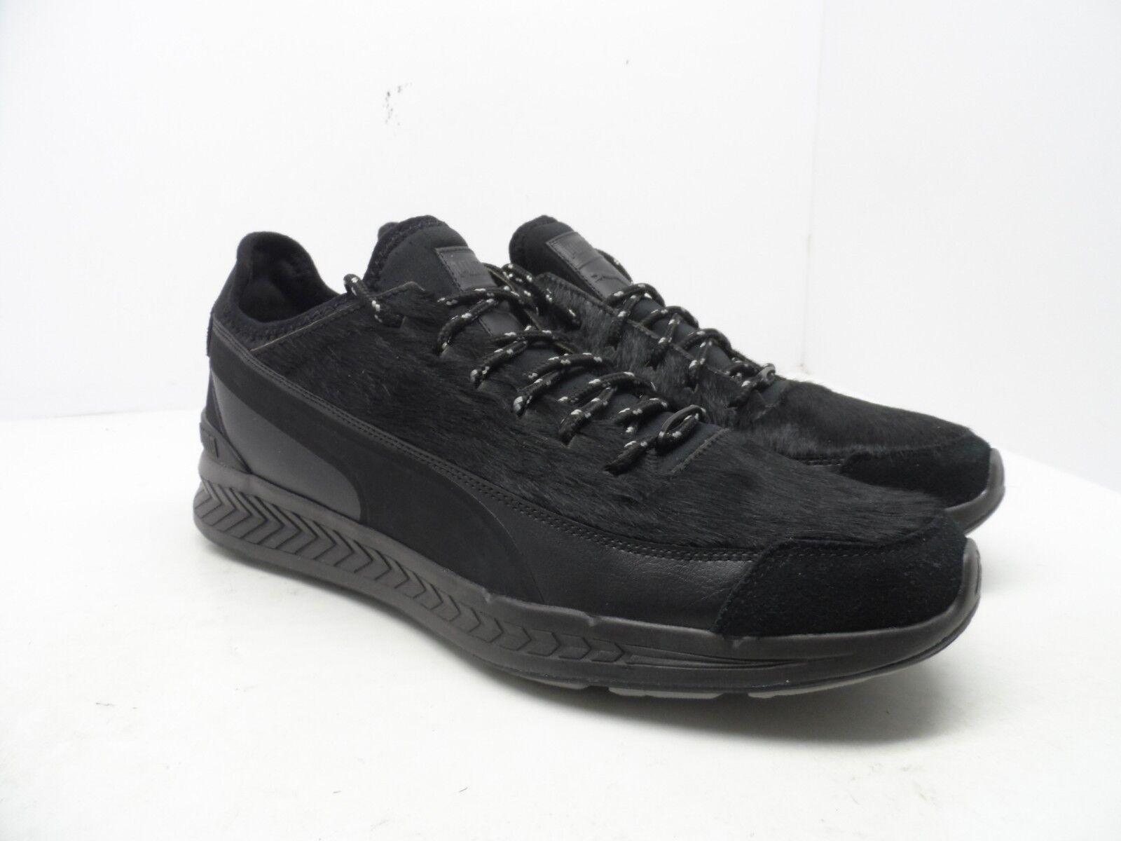 Puma Men's Ignite Sock Camping Sneakers shoes Black Size 12M
