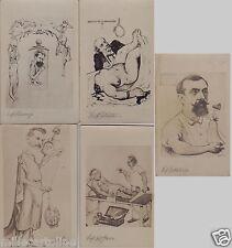 # 1900- 5 prof. Universita': PESTALOZZA-GRECO-GROCCO-FILIPPI-CHIARUGI IN CARICAT
