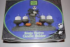 NIGHTMARE BEFORE CHRISTMAS JACK SKELLINGTON RESIN VOTIVE CANDLE HOLDER STATUE123