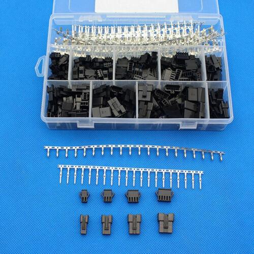 2,5mm Pitch 2 3 4 5 Pin JST SM Stecker Maennlich und Weiblich Stecker Gehae N3I6