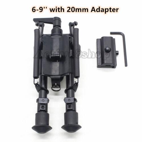 6,9,13/'/' inch Rifle Bipod Heavy Duty Swivel Tiltable Model With Pod-lock Handle