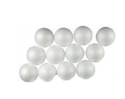 2k Bianco Polistirene Sfere Per Artigianato & Hobbies Qty 12 X 35mm Diametro Prezzo Ragionevole
