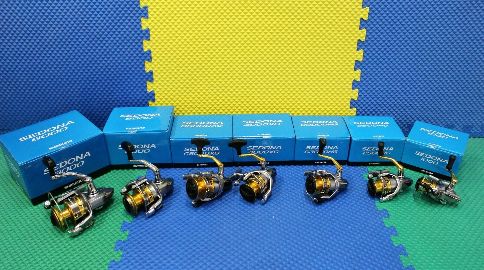 Shimano SEDONA  FI Spinning Reels NEW In blueE BOX  CHOOSE YOUR MODEL   factory outlet store