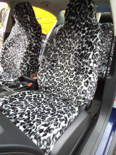 passend für Suzuki Jimny Auto Schneeleopard Kunst Komplettset I Sitzbezüge