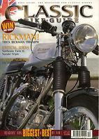 Classic Bike Guide Dec 2002, Suzuki GT750 Manx Norton Sunbeam S8 Rickman Triumph