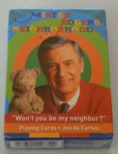 Mister Rogers' Neighborhood Playing Cards 52 Card Deck