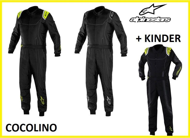 Alpinestars K-MX9 Kart Kart Mono Mono karting LEVEL 2 CIK FIA suit