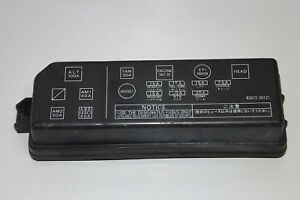 details about 1989 toyota celica gt fuse box cover lid oem may fits 1987, 1988 toyota innova fuse location 85 toyota celica fuse diagram list of
