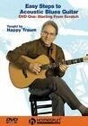 Easy Steps to Acoustic Blues Guitar 0073999730265 With Happy Traum DVD Region 1