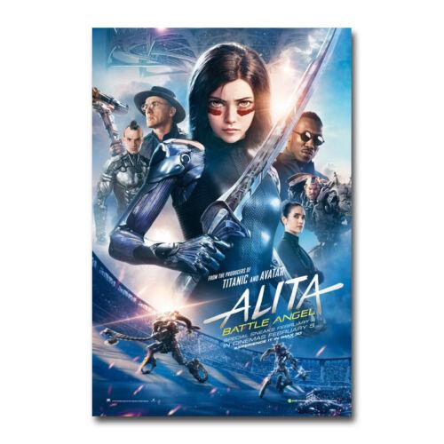 Alita Battle Angel Anime Movie Canvas Silk Poster Wall Art Home Decor 32x48 inch
