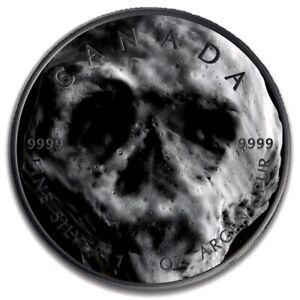 ASTEROID-TB145-MONKEY-MAPLE-LEAF-1-oz-silver-coin-ruthenium-plated-CANADA-2019