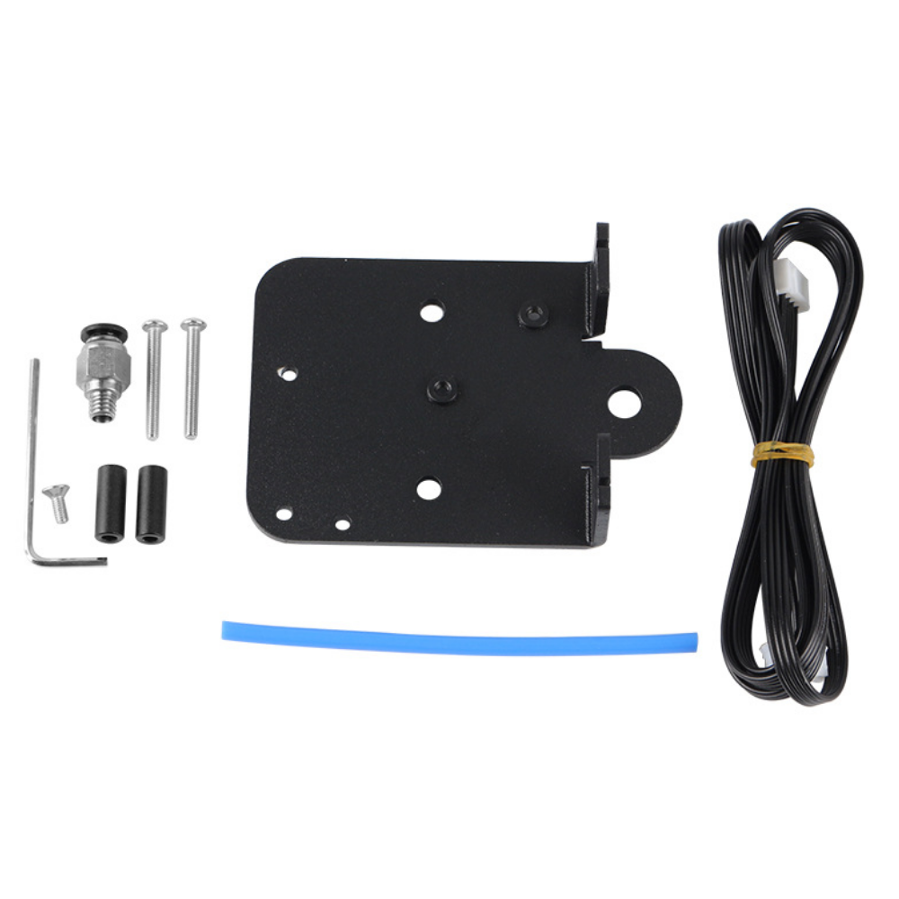 Double Z-Axis Extruder Motor Aluminum Alloy Mount Plate Kit for Creality Cr-10S
