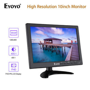 EYOYO-10-034-IPS-LCD-TFT-Moniteur-VGA-Video-Audio-HDMI-Securite-pour-CCTV-Camera-DVR