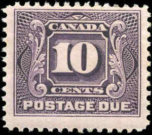 1928-Mint-H-Canada-F-Scott-J5-10c-Postage-Due-Stamp